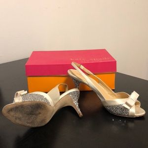 KATE SPADE ivory wedding shoes